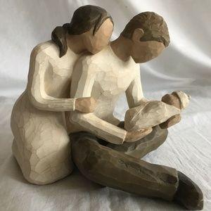 """Willow Tree Figurine Susan Lordi """"New Life"""" EUC"""